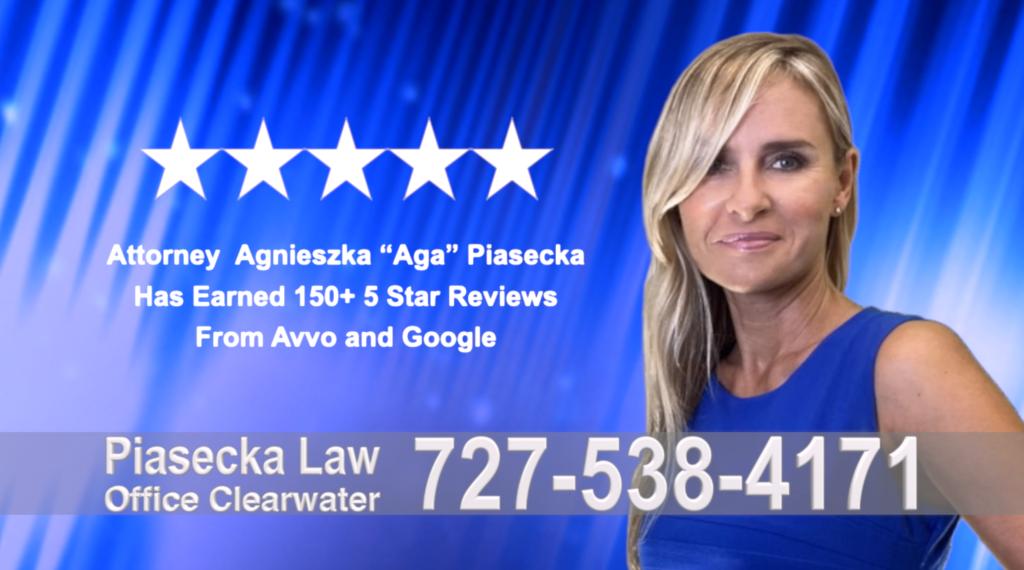 Aga, Agnieszka Piasecka, Polish, Lawyer, Attorney, Opinie klientów, Best, Najlepszy, Polskojęzyczny, Prawnik, Polski, Adwokat, Florida, Floryda, USA 17